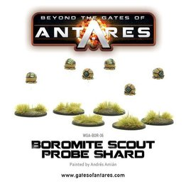 Warlord Games Boromite Scout Probe shard (6 fig blister)