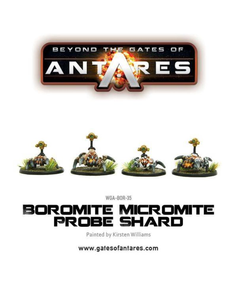 Warlord Games Boromite Micromite probe shard (4 Fig)
