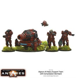 Warlord Games AI Heavy Support Team with Compression Bombard