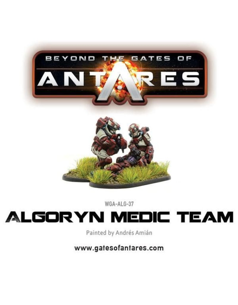 Warlord Games Algoryn medic team (2 Fig)
