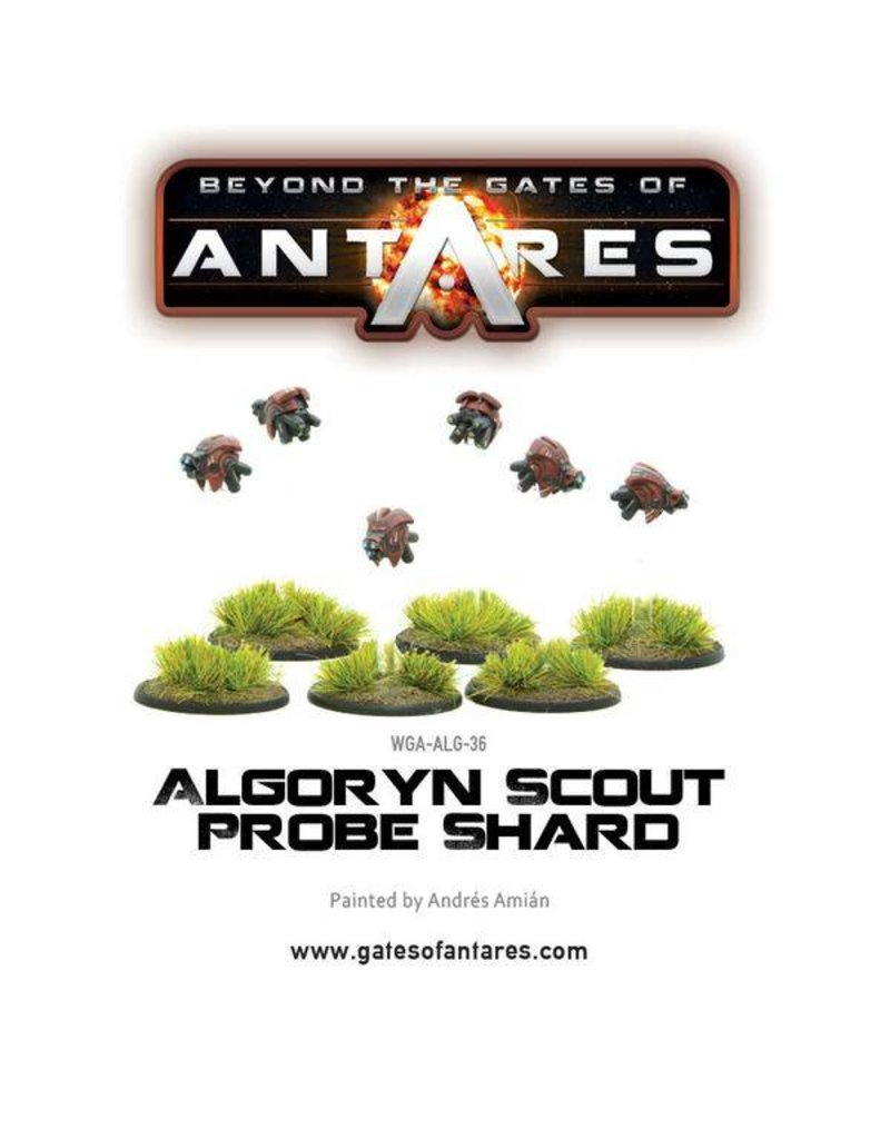 Warlord Games Algoryn Scout Probe Shard (6 Fig Blister)