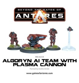Warlord Games Algoryn AI Team With Plasma Cannon