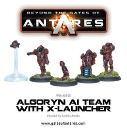 Warlord Games Algoryn AI Team with X-Launcher