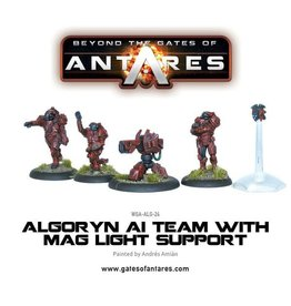 Warlord Games Algoryn AI Team with Mag Light Support
