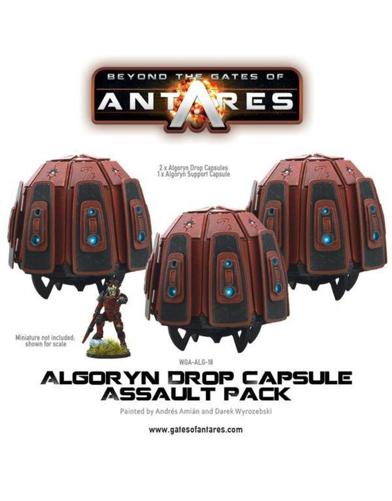 Warlord Games Algoryn Drop Capsule Assault Pack (3 Drop Capsules)