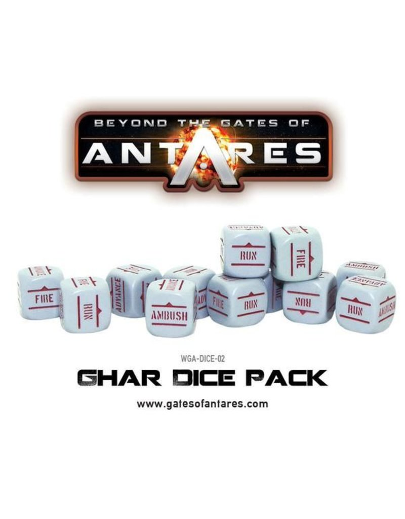 Warlord Games Gates Of Antares Ghar Dice Pack