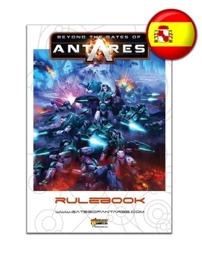 Warlord Games Beyond the Gates of Antares Rulebook - Spanish Edition