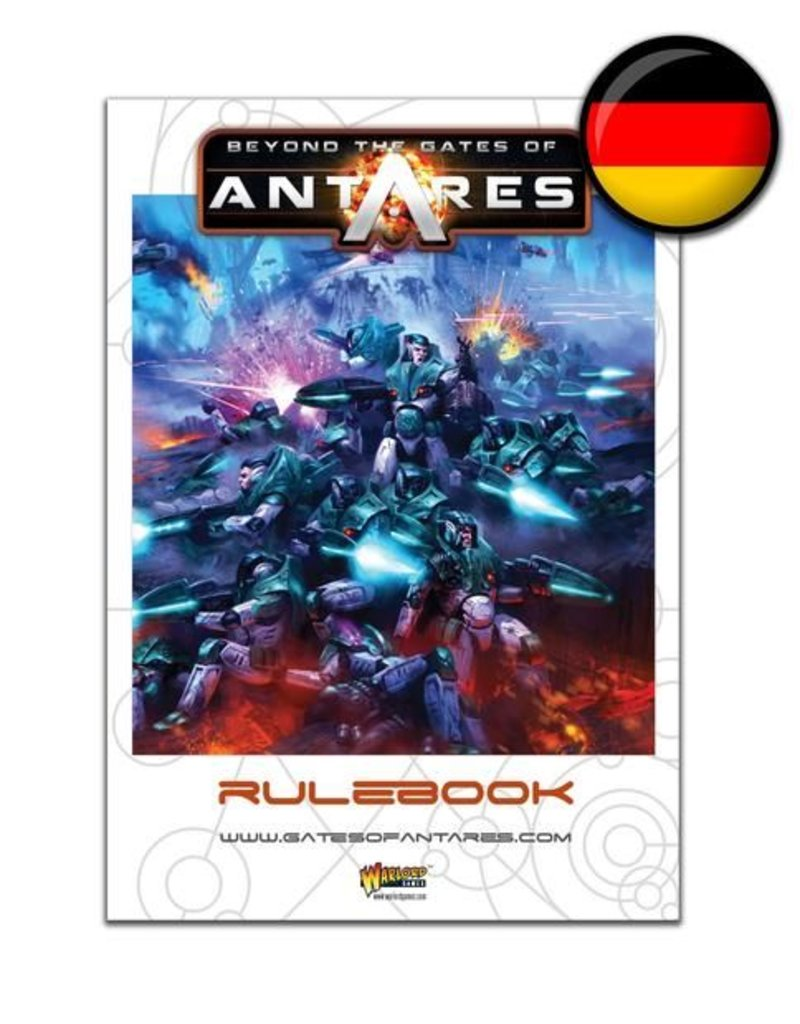Warlord Games Beyond the Gates of Antares Rulebook - German Edition