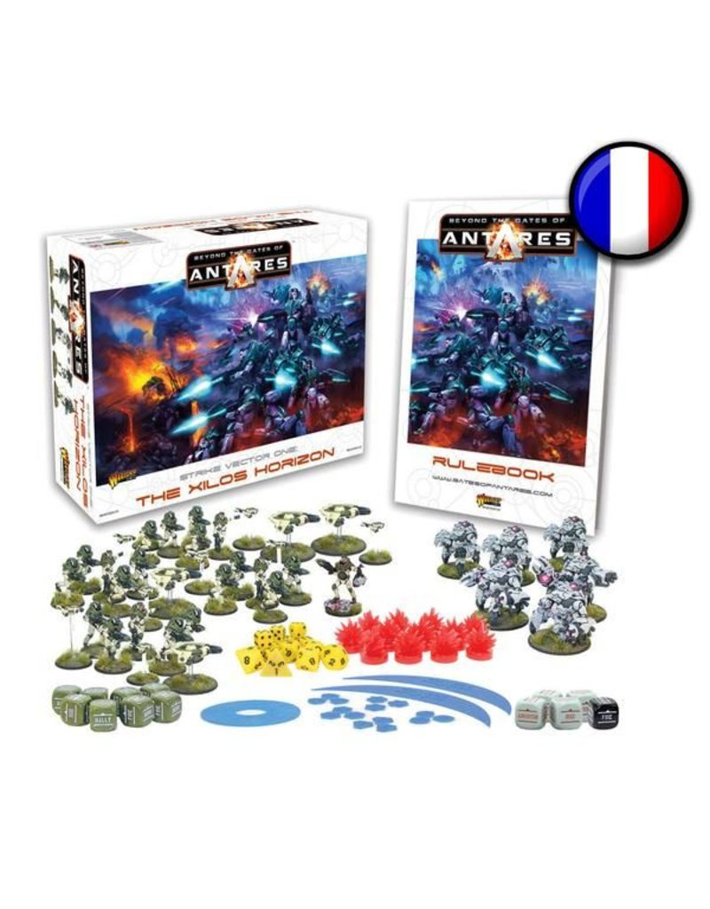 Warlord Games Beyond the Gates of Antares Starter Set -  Launch Edition French