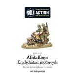 Warlord Games German Afrika Korps Kradschutzen motorcycle