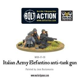Warlord Games Italian Army 47mm Elefantino anti-tank gun