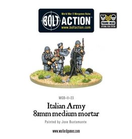 Warlord Games Italian Army medium mortar team