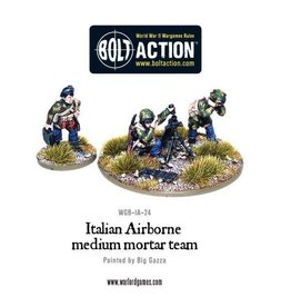 Warlord Games Italian Airborne medium mortar team