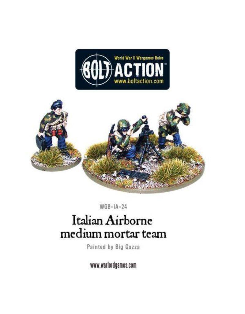 Warlord Games Italian Army Airborne medium mortar team