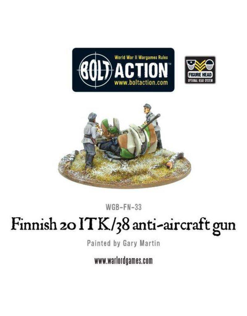 Warlord Games Finnish Army 20 ITK/38 Anti-Aircraft Gun