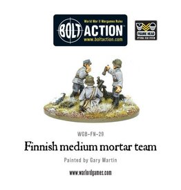 Warlord Games Finnish medium mortar team