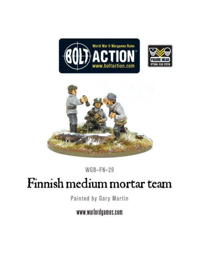 Warlord Games Finnish Army medium mortar team