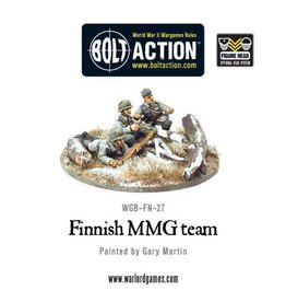 Warlord Games Finnish MMG team