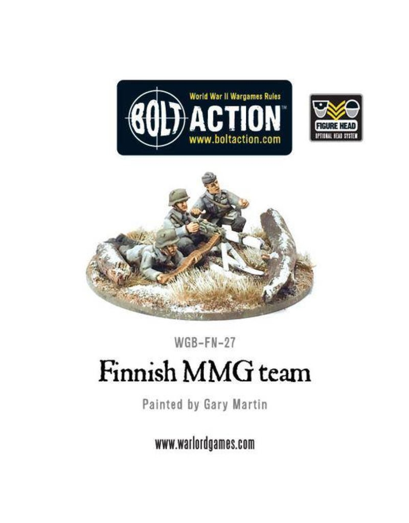 Warlord Games Finnish Army MMG team