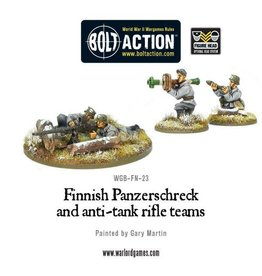Warlord Games Finnish Panzerschreck and anti-tank rifle teams