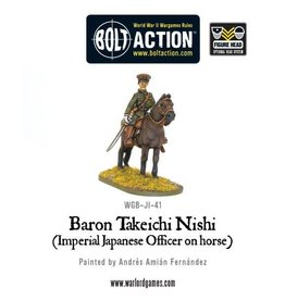 Warlord Games Baron Nishi (Imperial Japanese officer on horse)