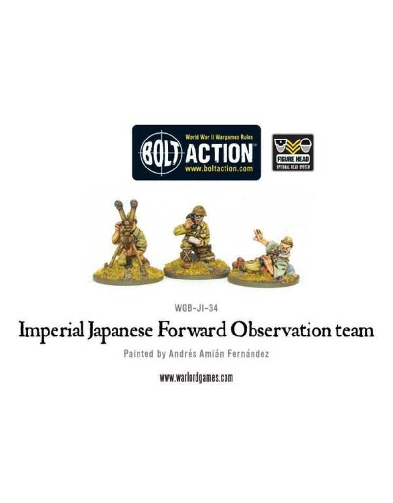 Warlord Games Imperial Japanese FOO team