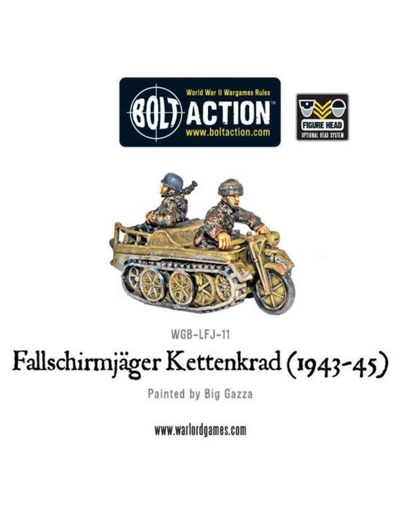 Warlord Games German Fallschirmjager Kettenkrad