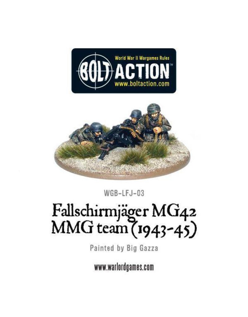 Warlord Games German Fallschirmjager MG42 MMG team
