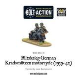 Warlord Games Blitzkreig German Kradschutzen Motorcycle