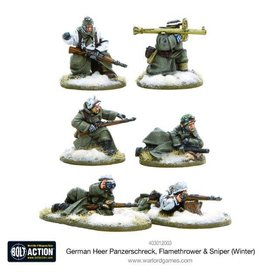 Warlord Games German Army Assault Weapon Teams (Winter)