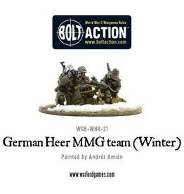 Warlord Games German Army MMG team (Winter)