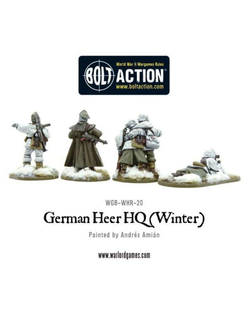 Warlord Games German Heer HQ (Winter)