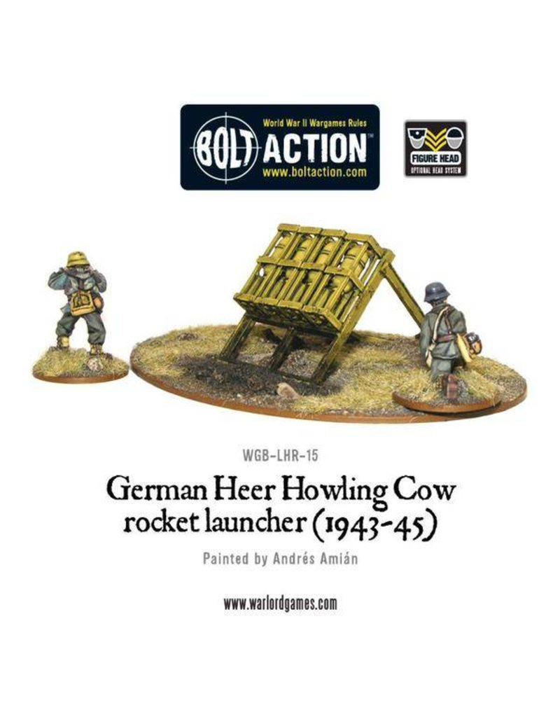Warlord Games German Heer Howling Cow Rocket Launcher