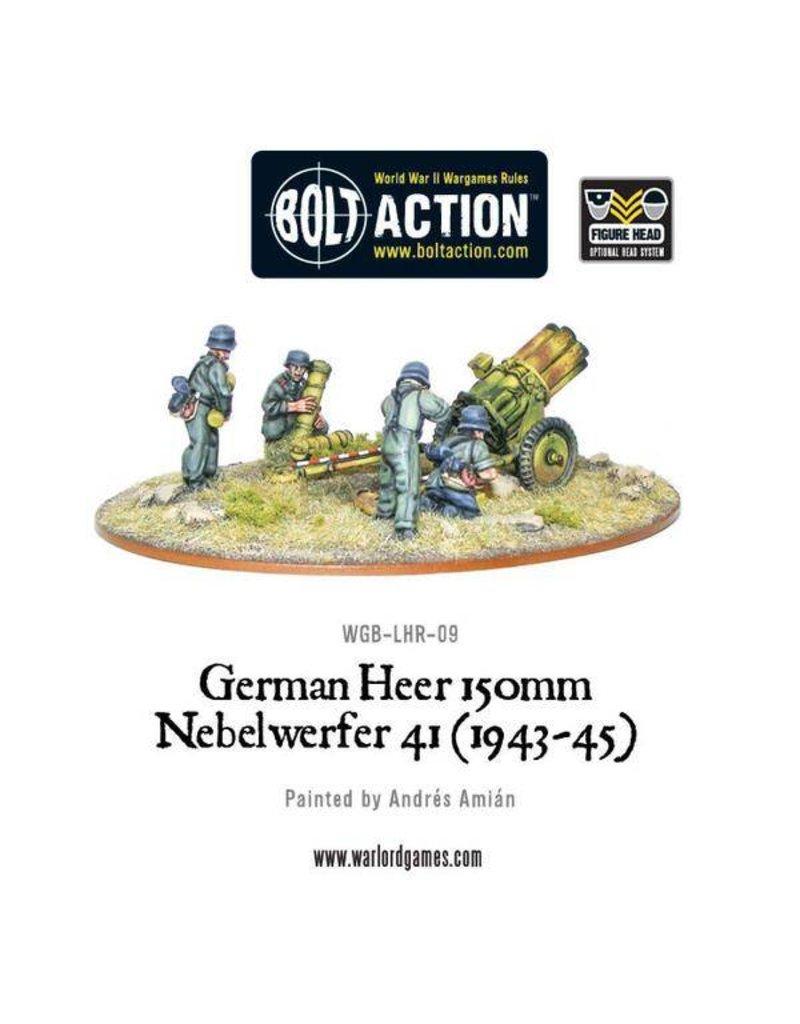 Warlord Games German Heer 150mm Nebelwerfer 41