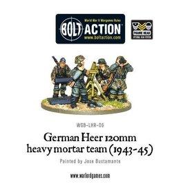 Warlord Games German Heer 120mm Hvy Mortar