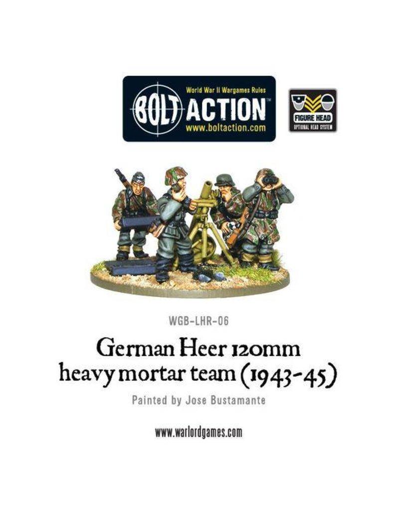 Warlord Games German Heer 120mm Heavy Mortar