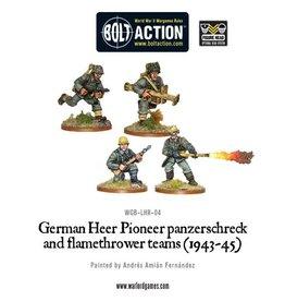 Warlord Games German Heer Pioneer, Panzerschrek/Flame