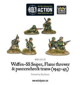 Warlord Games Waffen-SS Assault Weapon Teams