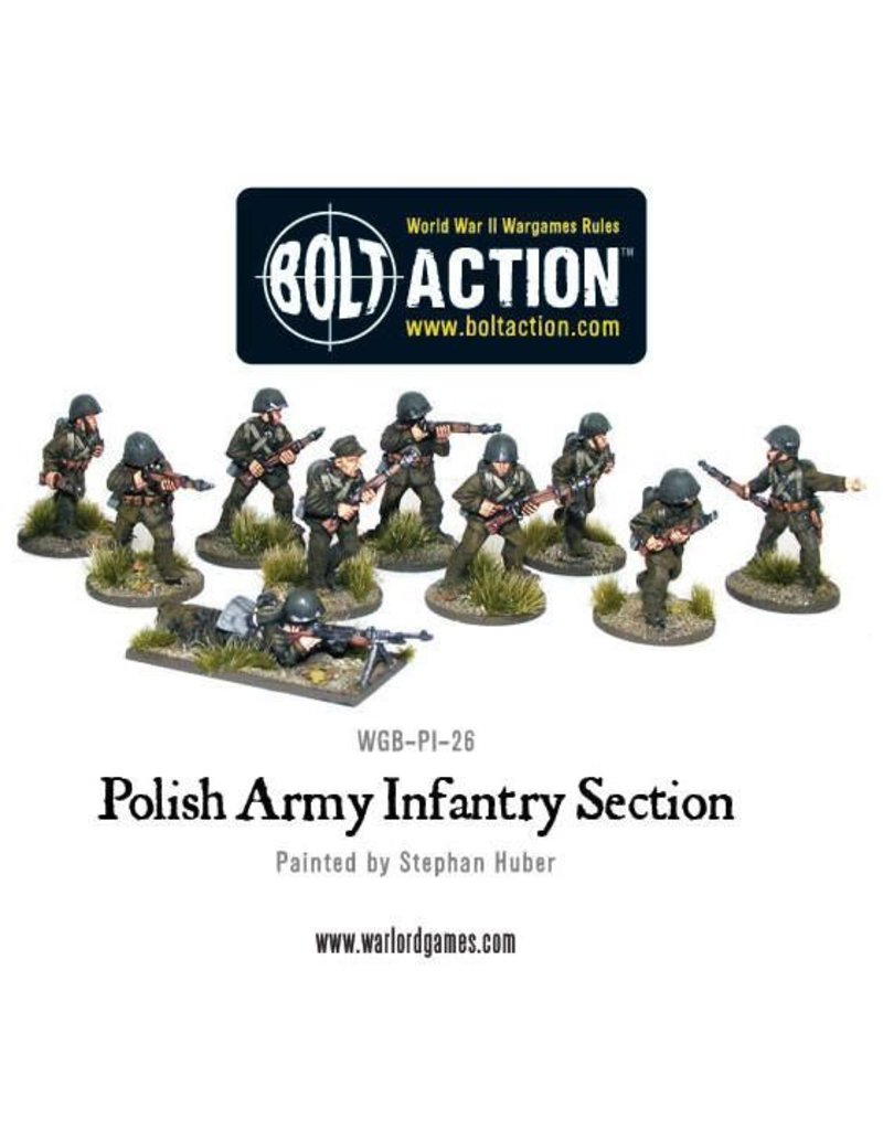 Warlord Games Polish Army Infantry Section