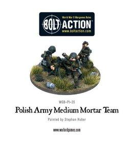Warlord Games Polish Army Medium Mortar Team