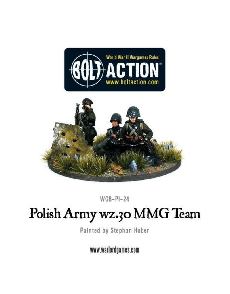 Warlord Games Polish Army wz.30 MMG team