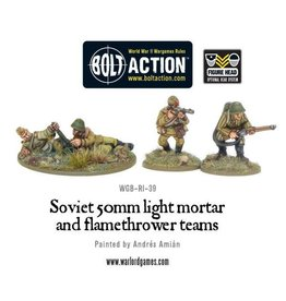 Warlord Games Soviet Army 50mm Assault Weapon Teams