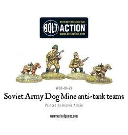 Warlord Games Soviet Anti-Tank Dog Teams