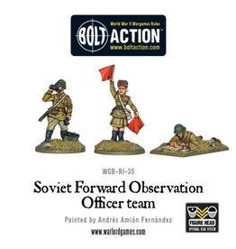 Warlord Games Forward Observer Officers (FOO)