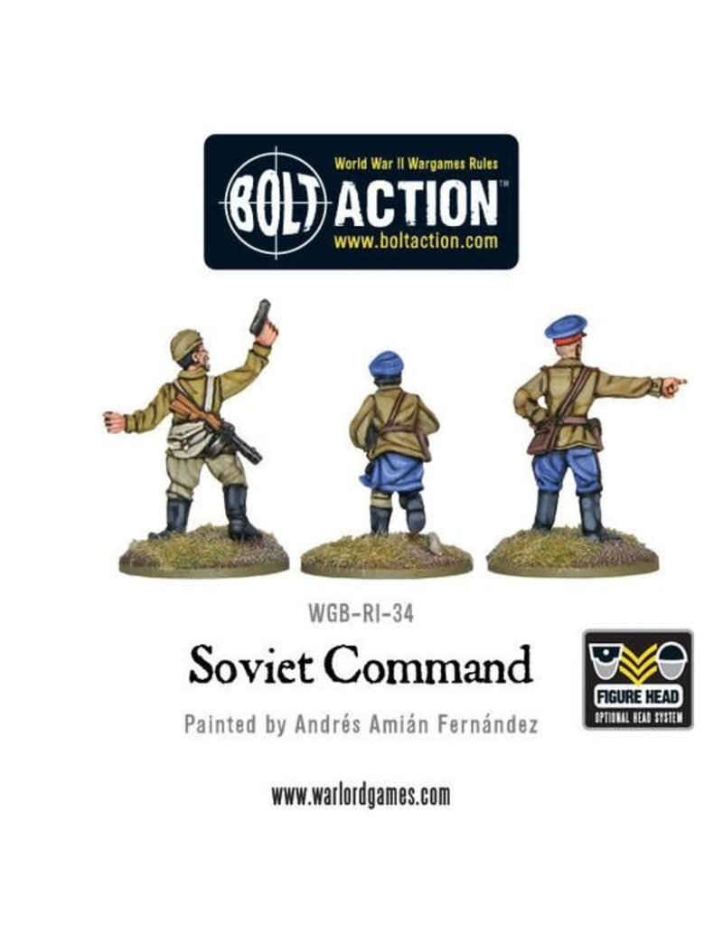 Warlord Games Soviet Army Command (3)