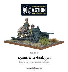 Warlord Games 45mm Anti Tank Gun