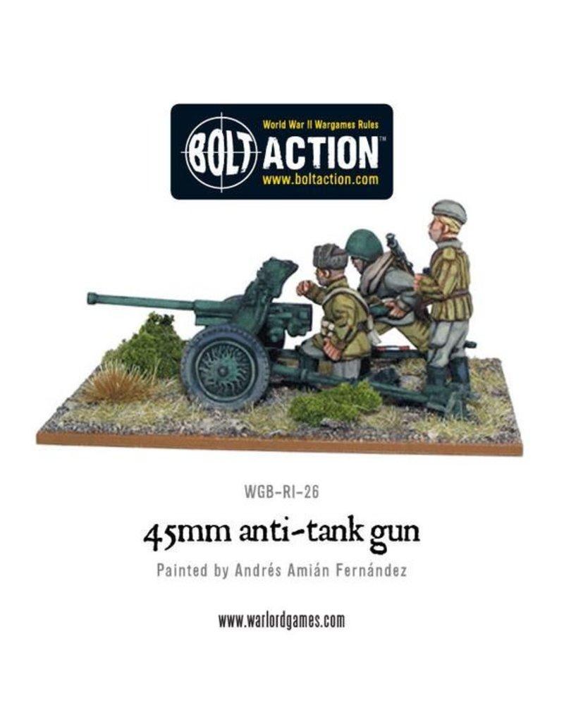 Warlord Games Soviet 45mm Anti Tank Gun