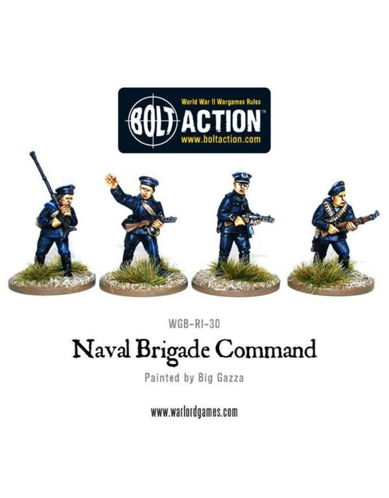 Warlord Games Soviet Naval Brigade Command