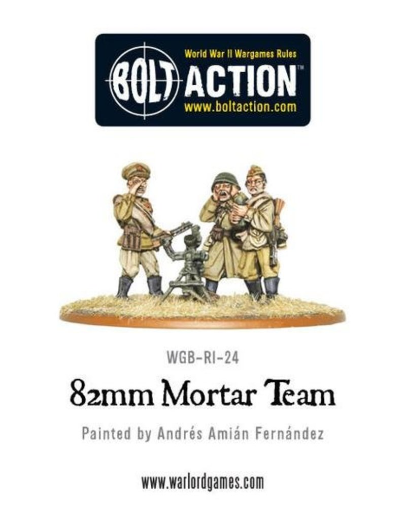 Warlord Games Soviet 82mm Mortar Team