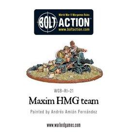 Warlord Games Soviet Maxim HMG Crew